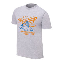 "John Cena ""The Champ is Here"" Vintage T-Shirt"