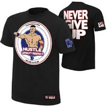 "John Cena ""Hustle Loyalty Respect"" Authentic T-Shirt"