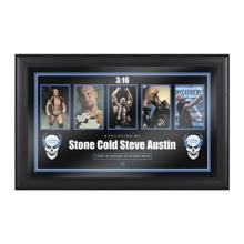 """Stone Cold"""" Steve Austin Evolution of a Hall of Famer Plaque"""
