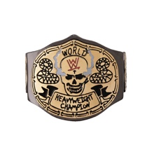 Stone Cold Smoking Skull Championship Finger Ring