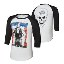 "Stone Cold Steve Austin ""Texas Rattlesnake"" Raglan Shirt"