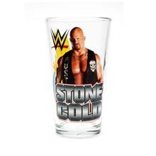 Stone Cold Steve Austin Toon Tumbler Pint Glass