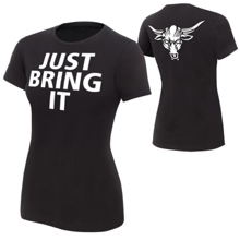 "The Rock ""Brahma Bull"" Women's Authentic T-Shirt"