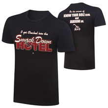 "The Rock ""SmackDown Hotel"" Retro T-Shirt"