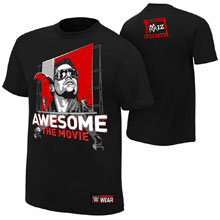 """The Miz """"Awesome: The Movie"""" Authentic T-Shirt"""