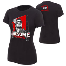 "The Miz ""Awesome: The Movie"" Women's Authentic T-Shirt"