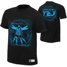 """Chris Jericho """"Light It Up"""" Authentic T-Shirt"""