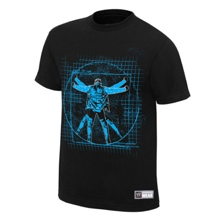 "Chris Jericho ""Light It Up"" Youth Authentic T-Shirt"