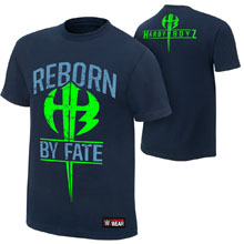 """The Hardy Boyz """"Reborn by Fate"""" Youth Authentic T-Shirt"""