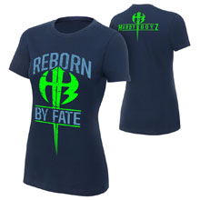 "The Hardy Boyz ""Reborn by Fate"" Women's Authentic T-Shirt"