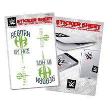 """The Hardy Boyz """"Reborn by Fate"""" Sticker Sheet"""