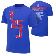 "Chris Jericho ""Y25J"" Commemorative T-Shirt"