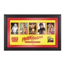 Hulk Hogan Evolution of a Hall of Famer Plaque