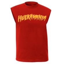 "Hogan ""Hulkamania"" Red Muscle T-Shirt"