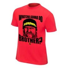 """Hulk Hogan """"Whatcha Gonna Do?"""" T-Shirt"""