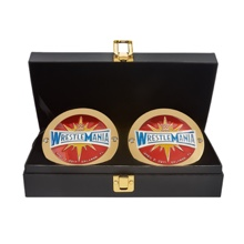 WrestleMania 33 Championship Replica Title Side Plate Box Set