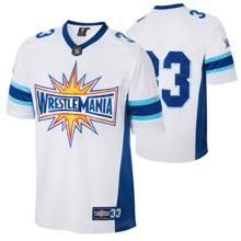 WrestleMania 33 Blank Football Jersey