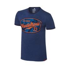 WrestleMania 33 Sportique Navy Ringer T-Shirt
