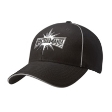 WrestleMania 33 Black Baseball Hat