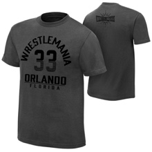 """WrestleMania 33 """"The Showcase"""" Youth Charcoal T-Shirt"""
