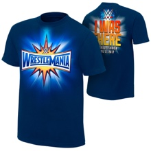 "WrestleMania 33 ""I Was There"" Blue Youth T-Shirt"