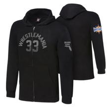 WrestleMania 33 Charcoal Grey Youth Lightweight Hoodie Sweatshirt