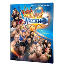 WrestleMania 33 Program