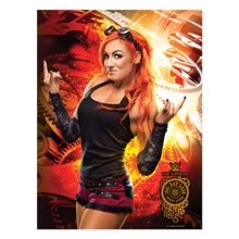 Becky Lynch WrestleMania 33 18 x 24 Poster