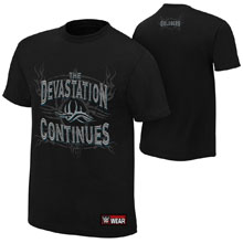 "Goldberg ""Devastation Continues"" Authentic T-Shirt"