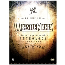 WrestleMania Vol. 3 11-15 DVD Set