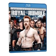 WWE Royal Rumble 2012 Blu-Ray DVD