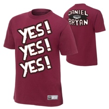Daniel Bryan YES Authentic T-Shirt