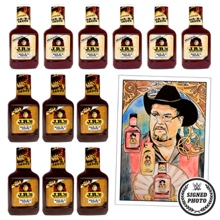 JR's Original & Hot BBQ Sauce Package with free signed thank you note