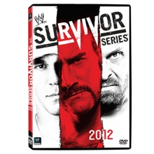 WWE Survivor Series 2012 DVD