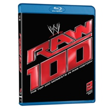 Raw 100 – The Top 100 Moments in Raw History Blu-ray DVD