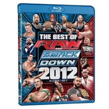 WWE: The Best of Raw and SmackDown 2012 Blu-ray