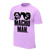 "Macho Man"" Randy Savage Purple T-Shirt"