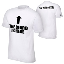 "Daniel Bryan ""The Beard Is Here"" Authentic T-Shirt"