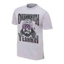 "Macho Man"" Randy Savage ""Oooh Yeah"" OTR T-Shirt"