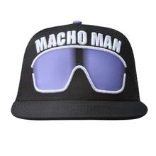 "Macho Man"" Randy Savage Purple Sunglasses Hat"