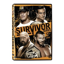 WWE Survivor Series 2013 DVD