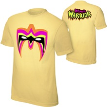 "Ultimate Warrior ""Parts Unknown"" Yellow T-Shirt"