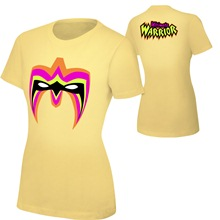 "Ultimate Warrior ""Parts Unknown"" Yellow Women's T-Shirt"
