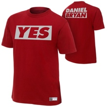 "Daniel Bryan ""Yes"" Youth Authentic T-Shirt"