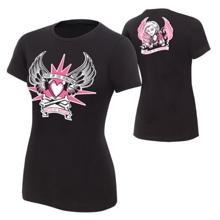"""Natalya """"Queen of Harts"""" Women's Authentic T-Shirt"""