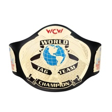 WCW Tag Team Championship Replica Title Belt