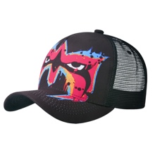 Ultimate Warrior Facepaint Mesh Baseball Cap