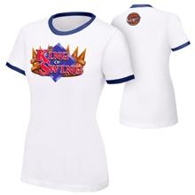 "Cesaro ""King Of Swing"" Women's Authentic T-Shirt"