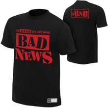 "Bad News Barrett ""Bad News"" Authentic T-Shirt"