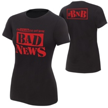 "Bad News Barrett ""Bad News"" Women's Authentic T-Shirt"